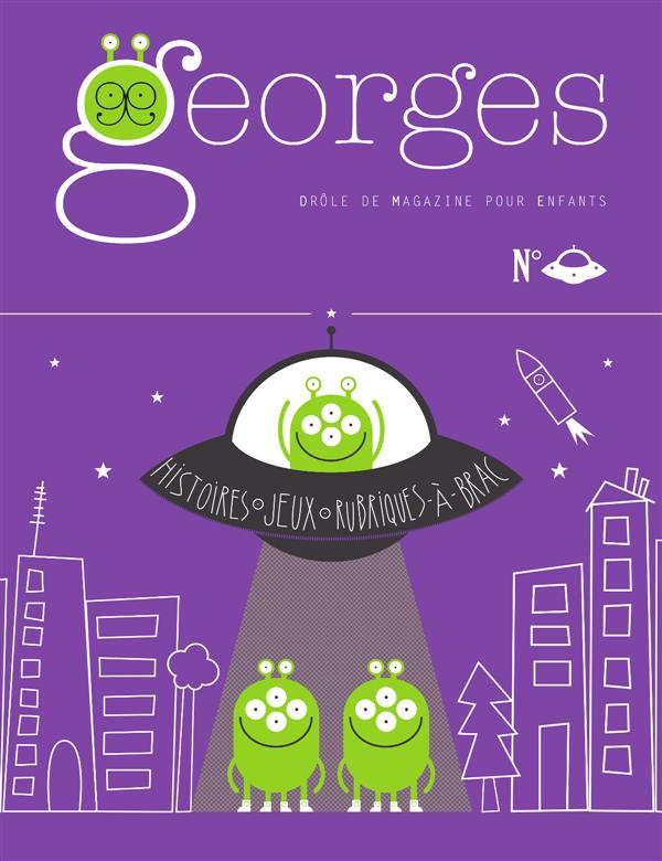 MAGAZINE GEORGES N 21 - SOUCOUPE